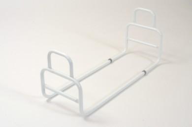Barre d'accès au lit blanche
