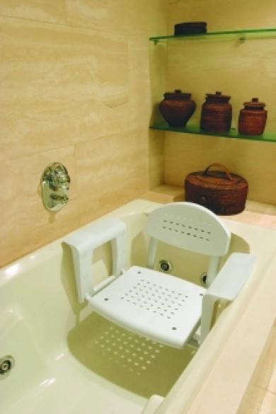 Siège de bain avec dossier Profilo