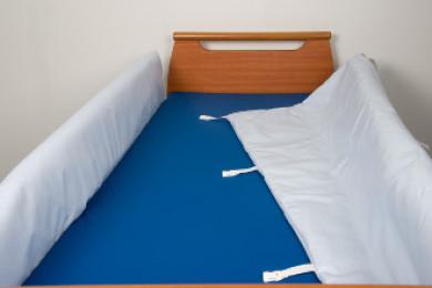 Protection pour barrière de lit double 185 cm.