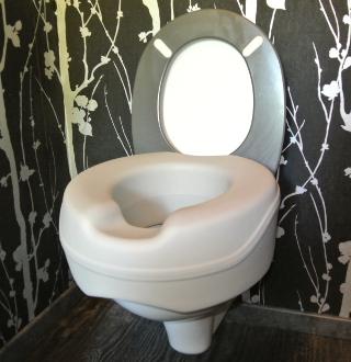 Rehausse de toilettes Soupless