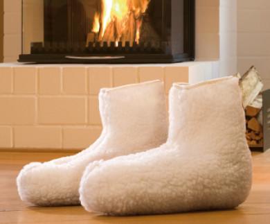 Chaussons de lit thermiques