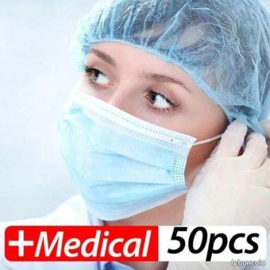 Masques chirurgicaux 3 plis